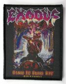 Exodus - 'Blood In Blood Out' Woven Patch